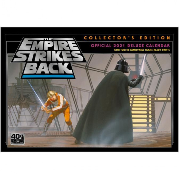 Star Wars - Collector's Edition - The Empire Strikes Back - kalendarz ścienny 2021 Deluxe