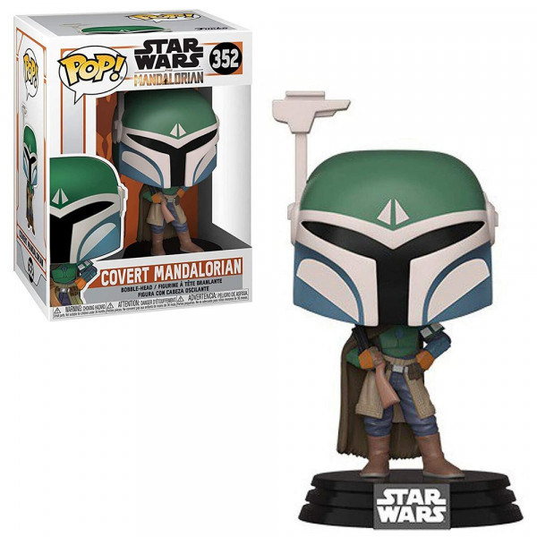 Star Wars: The Mandalorian - figurka Covert Mandalorian (Funko Pop! nr 352)