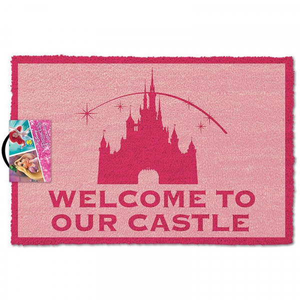 Wycieraczka Disney - Welcome To Our Castle