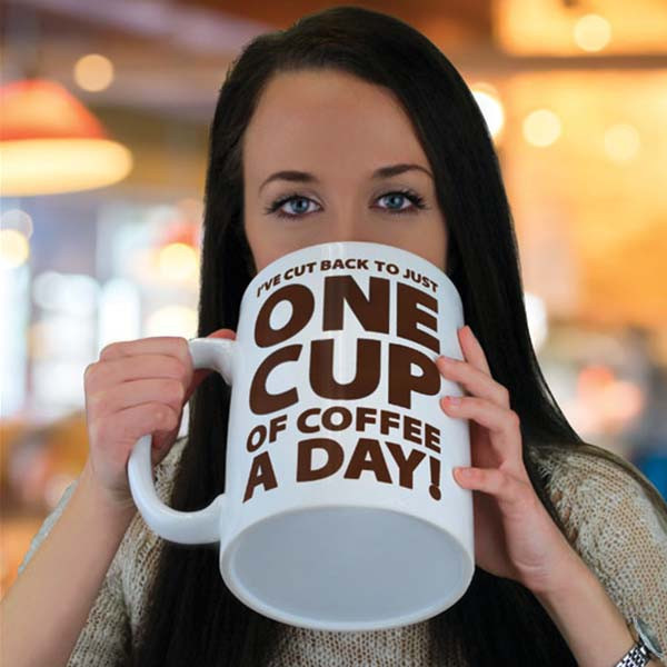 Gigantyczny Kubek - One Cup of Coffee a Day