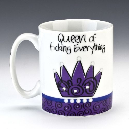 Kubek Queen of Fucking Everything