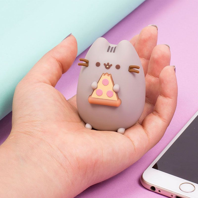 Mini Głośnik Bluetooth - Pusheen z pizzą